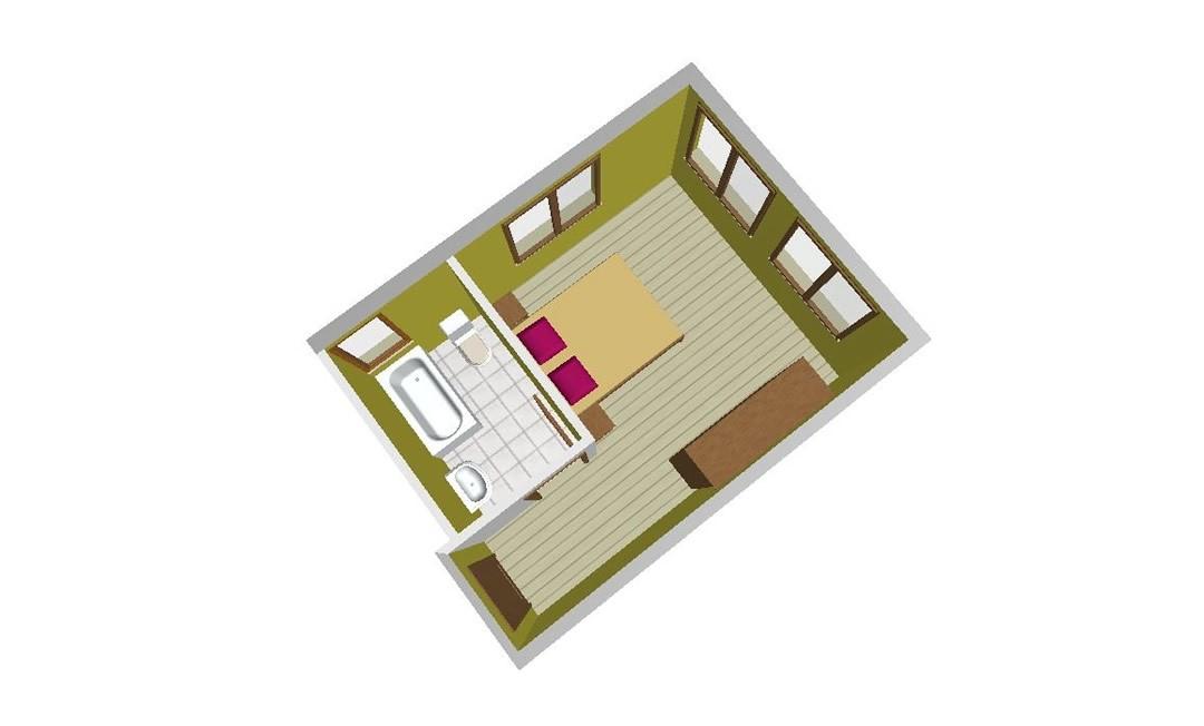 Habitación Individual con acceso al SPA