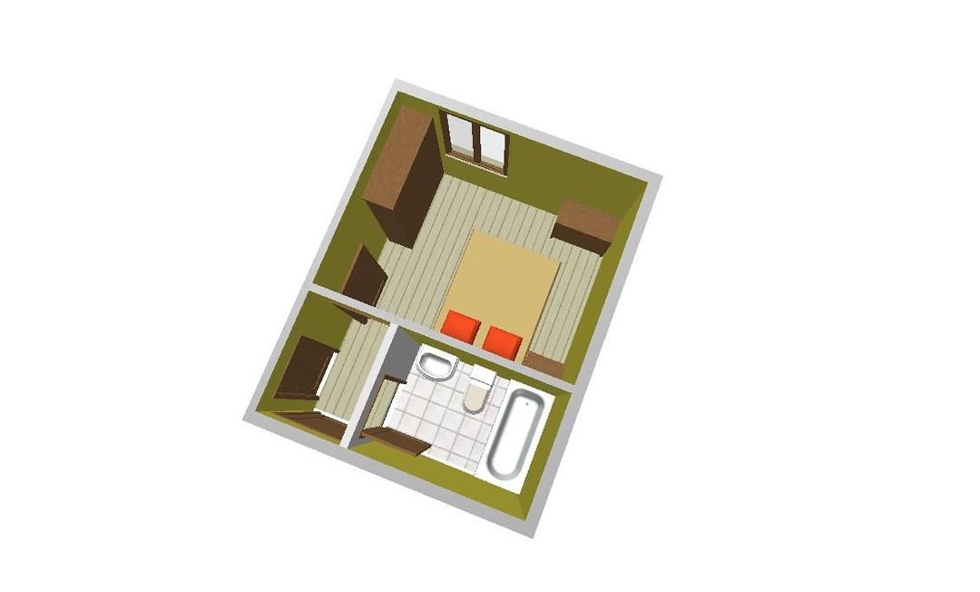 Habitación Estándar con acceso al SPA
